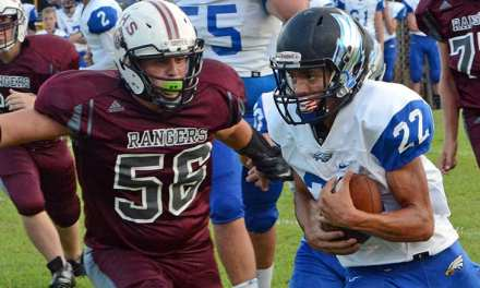 Rangers unable to keep pace with Cosby