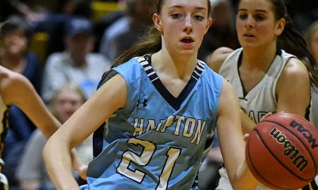Region 1-A: Hampton rallies for win; Lady 'Landers fall in semi