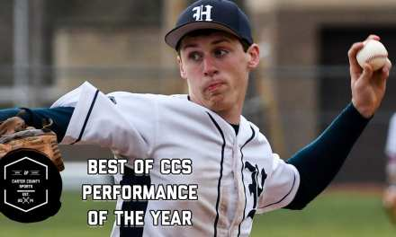 Lyons earns Performance of the Year