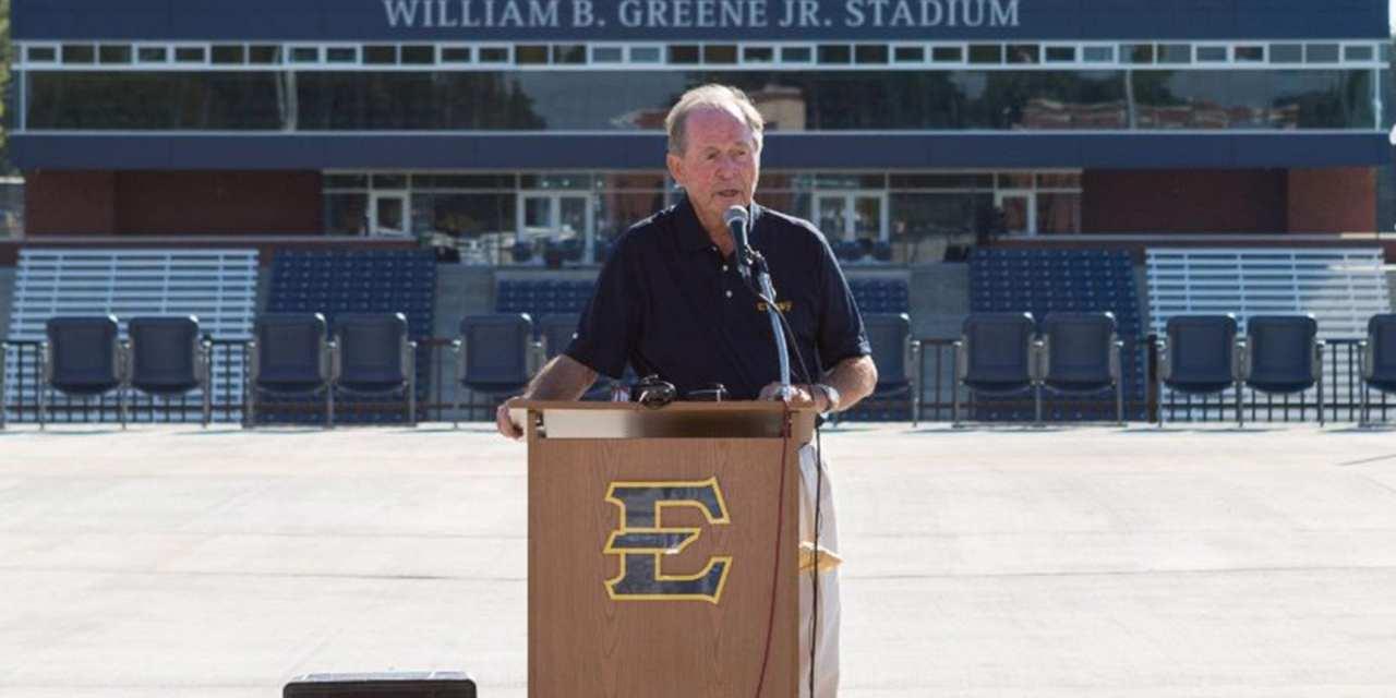 ETSU to name new stadium William B. Greene, Jr. Stadium