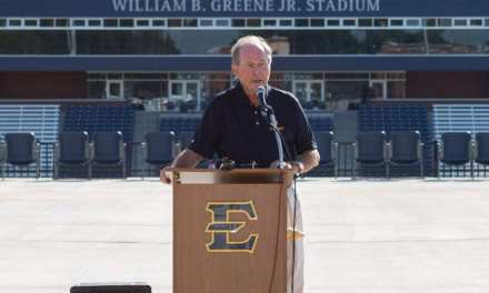 ETSU to name new stadium William B. Greene, Jr. Stadium