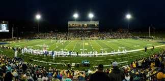 Etsu Football opens new stadium with win