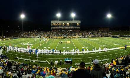 ETSU opens new stadium with win