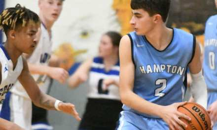 Hampton's upset bid falls short at Cosby