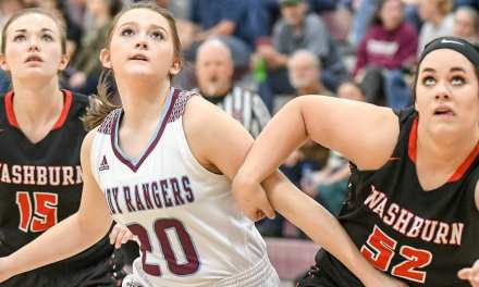 Lady Rangers cruise past Washburn
