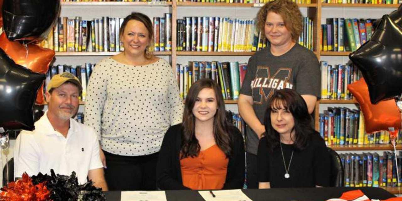 Cloudland's Barnett signs with Milligan