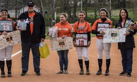 Milligan softball cruises on Senior Day