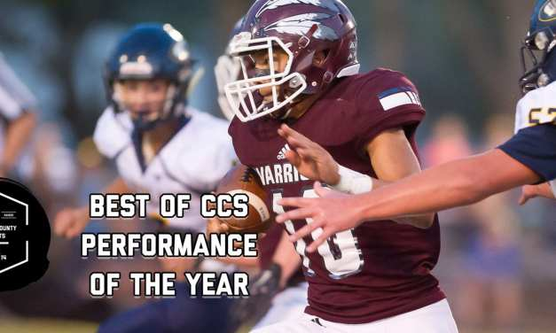 Sams earns Best of CCS Performance of the Year