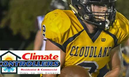 Cloudland's Coffey runs Climate Controllers honor