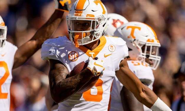 Tennessee upsets Auburn on the road