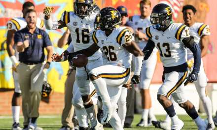 ETSU downs Mercer, 21-18; Bucs clinch share of SoCon title