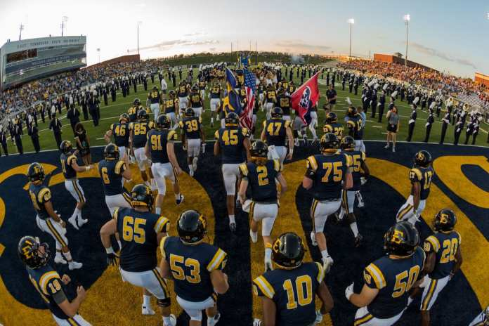 ETSU Football Announces Five Future Opponents