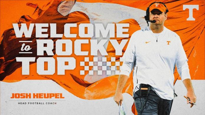 Heupel Selected As Tennessee Football Head Coach