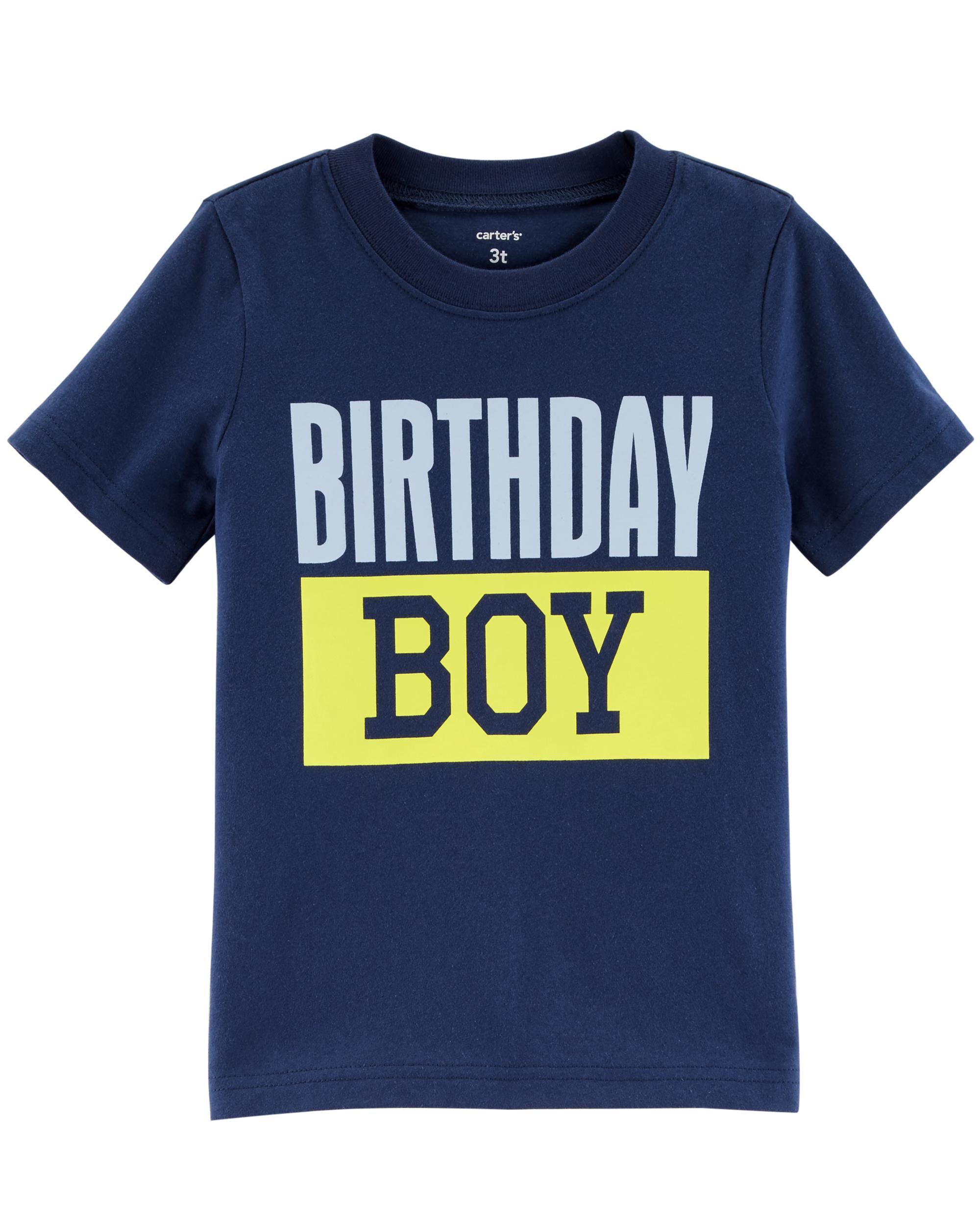 Birthday Boy Jersey Tee Carters Com