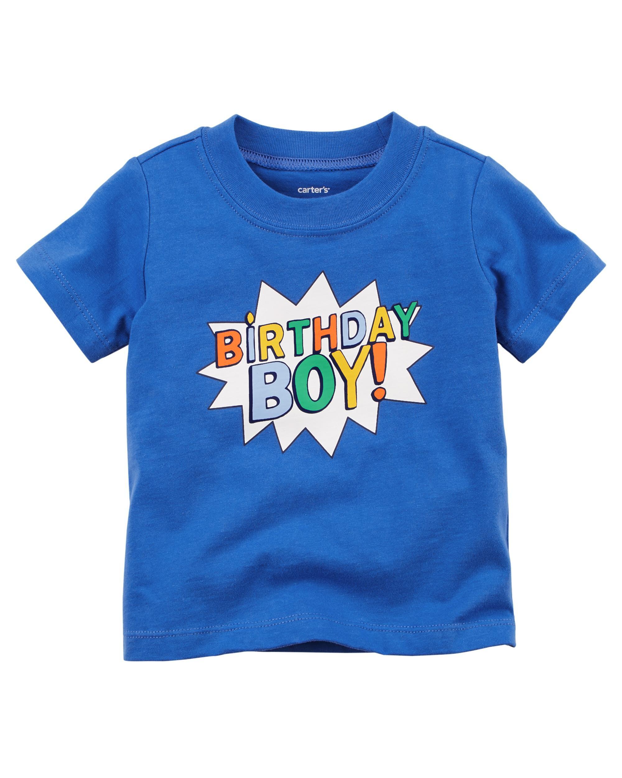 Birthday Boy Tee Carters Com