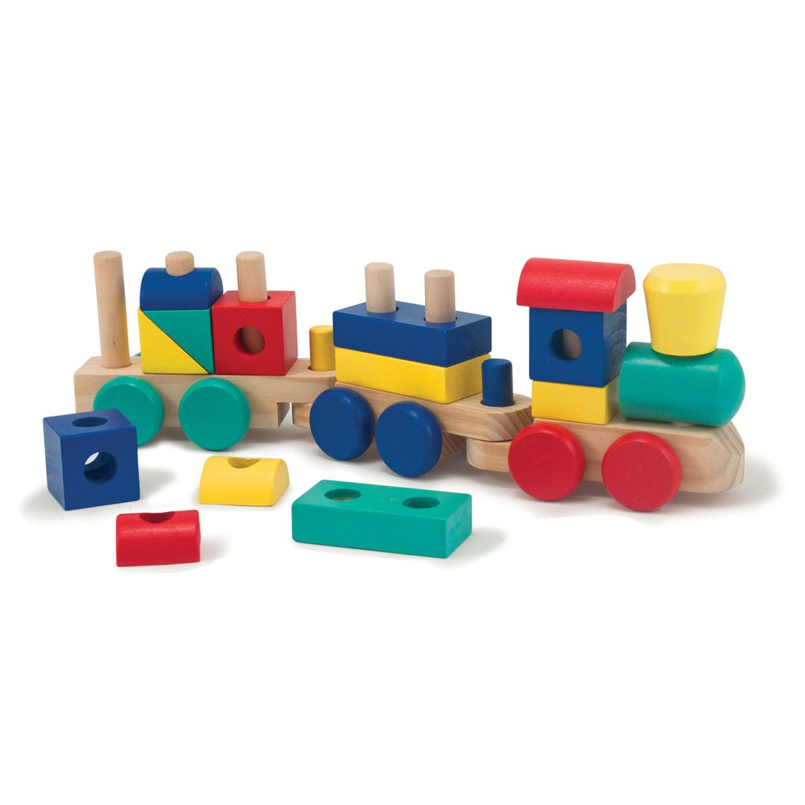 Images Melissa And Doug Stacking Train