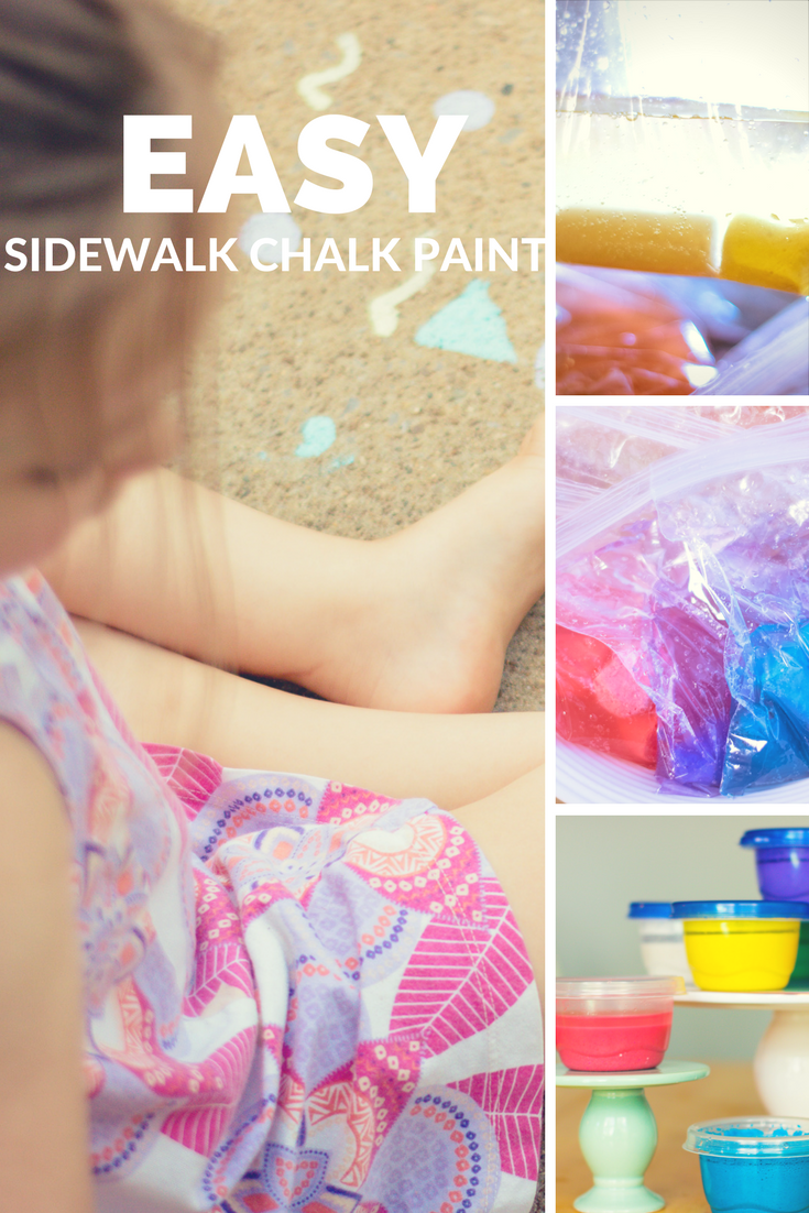 Easy Sidewalk Chalk Paint Pin