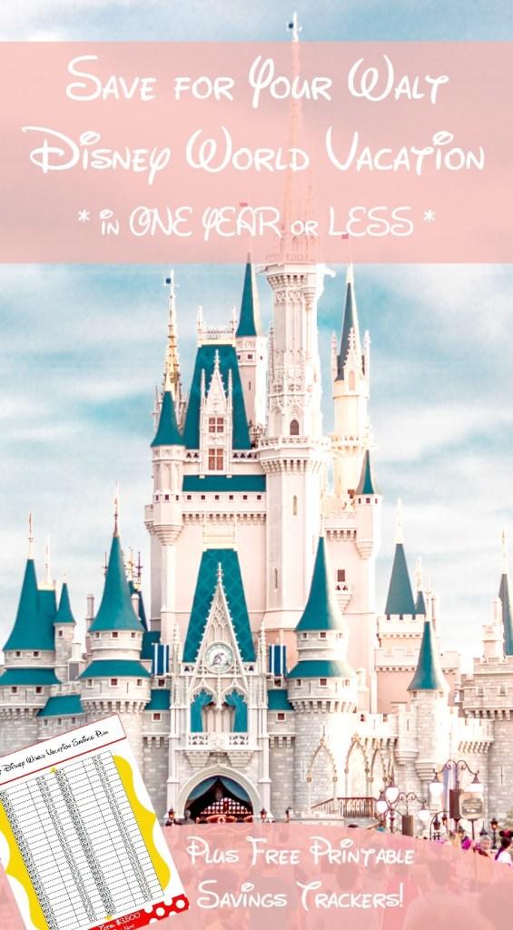 Saving for Your Walt Disney World Vacation