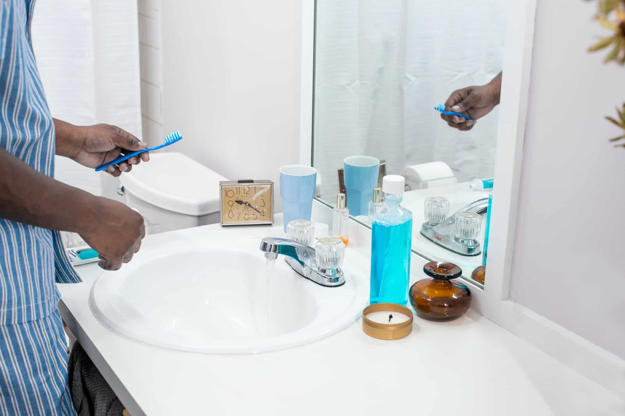 bathroom sink smell may be coming from