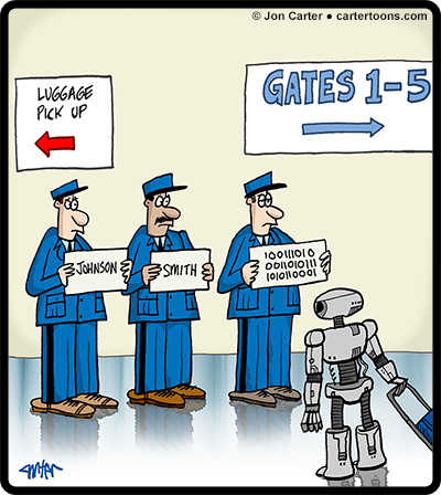 Chauffeur-Signs-Robot