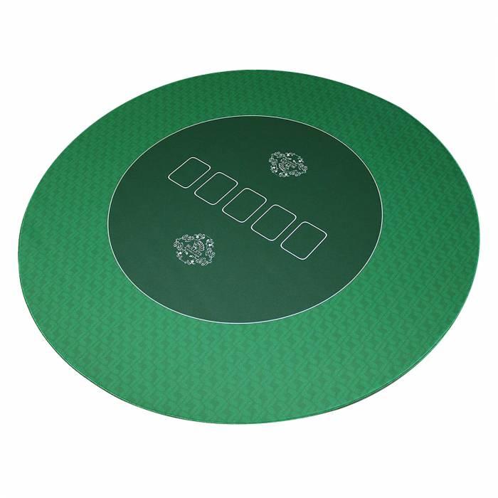 tapis de poker bullets en jersey neoprene rond 100 cm de diametre