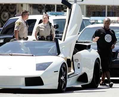 Jermaine Dupri Lamborghini Murcielago