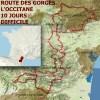 Route des gorges - L'Occitane - 10 jours - Difficile