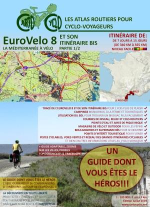 EuroVelo 8 et son Itinéraire Bis (dont vous êtes le héros, Facile)