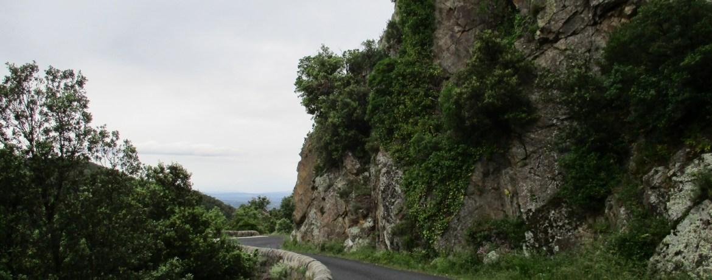 Sur la route du col de Panissars