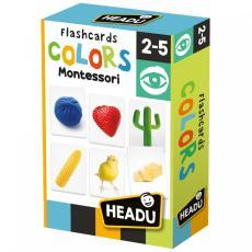 Giochi Flashcards Colors Montessori headu