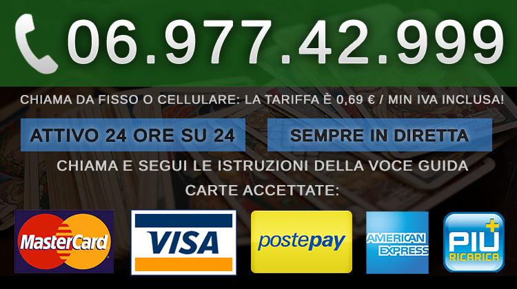 Cartomanzia Con Pagamento Postepay 0697742999