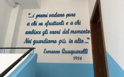 Frase a parete
