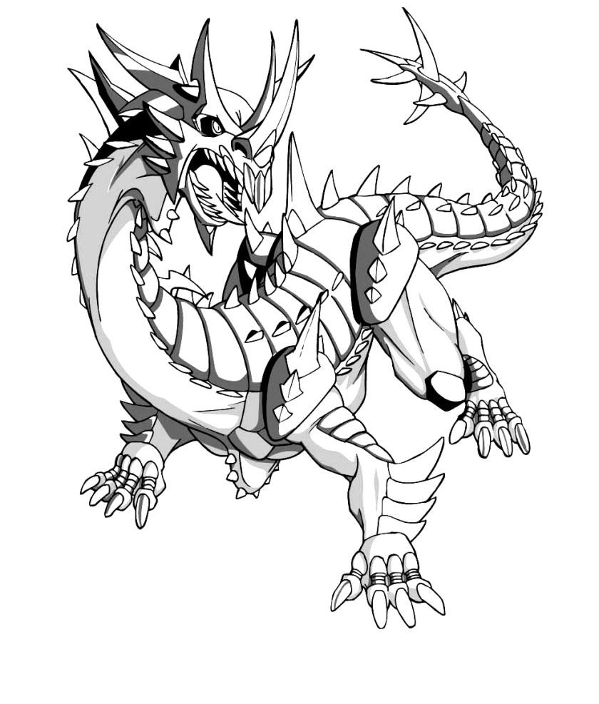 drawing  from bakugan coloring page
