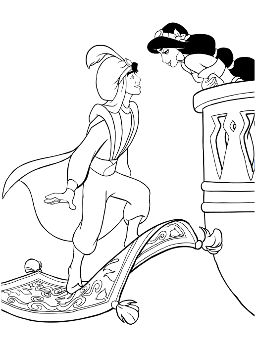 List of Coloring Pages Disney Jasmine Pict - Best Pictures