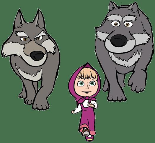 Masha And The Bear Clip Art Cartoon Clip Art