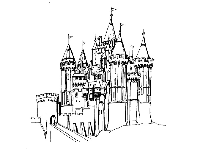 disneyland colouring pages