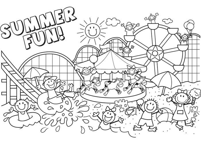 summer coloring pages printable aaldtk