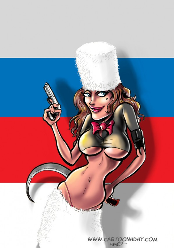Image result for Russian Spy Cartoon