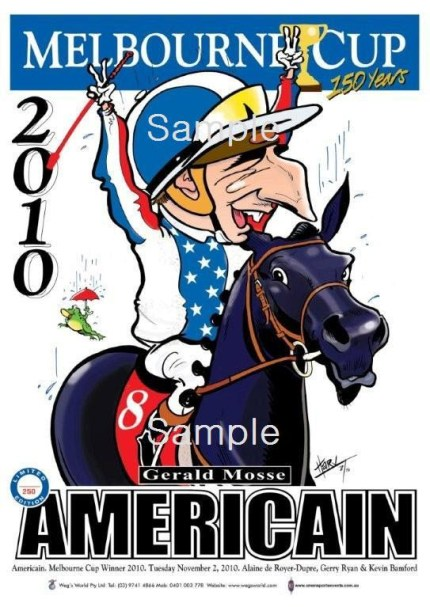 Melbourne Cup 2010 Americain