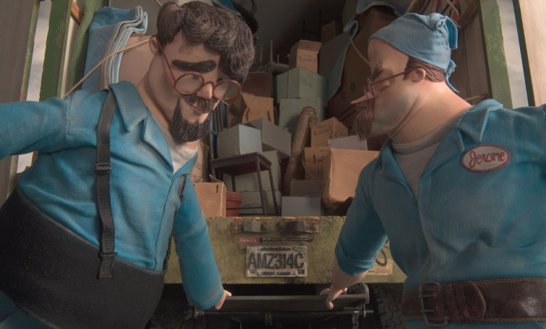 Image result for Ranft Brothers Moving Van coraline