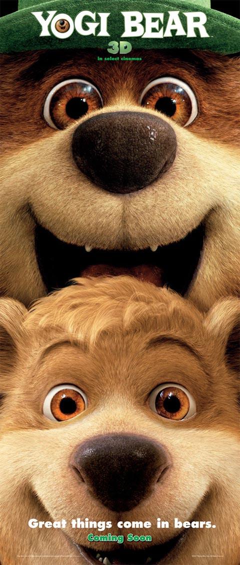 Creepy Yogi Bear Movie Poster