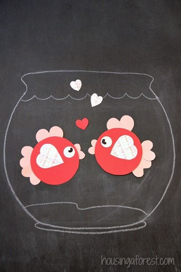 Heart Animals Art And Craft