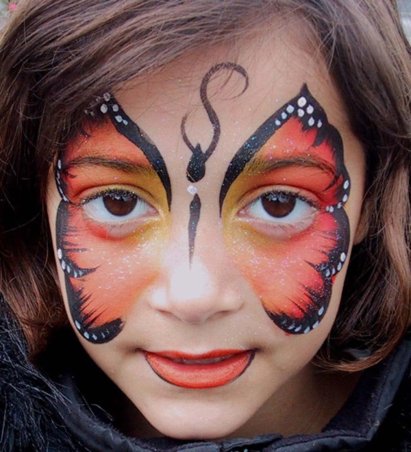 Simple Face Painting Ideas for Kids23   Cartoon District Simple Face Painting Ideas for Kids23