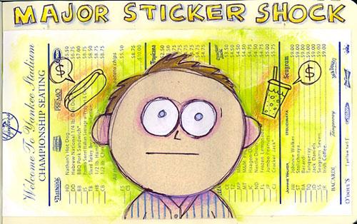 major sticker shock