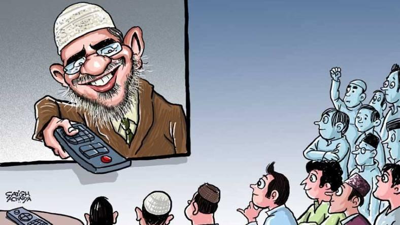 Zakir Naik!