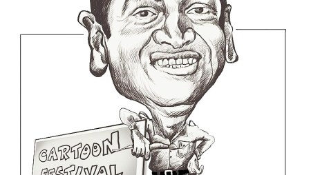 Caricature by Vijay Kumar Musale