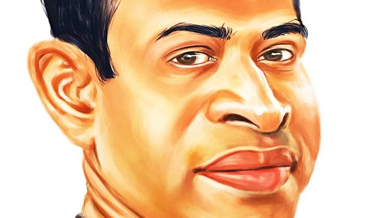 Caricature by Manoj Sinha