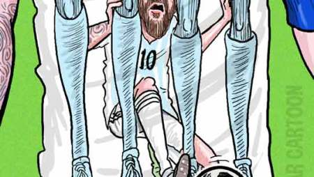 Messi's Argentina crashes out of FIFA World Cup 2018!