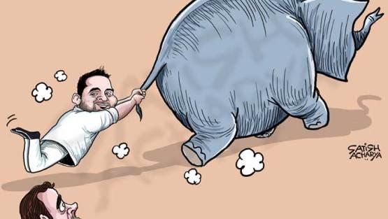 Tejaswi Yadav endorses BSP-SP alliance!