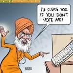 Sakshi Maharaj's curse!